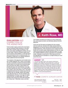 Dr. Rose in Coast Magazine