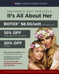 Mother's Day 2017 Specials